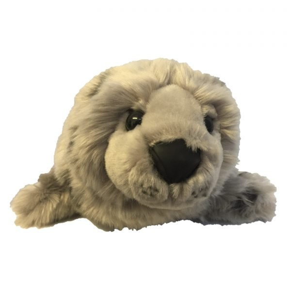 SRI Logo Seal Soft Toy front