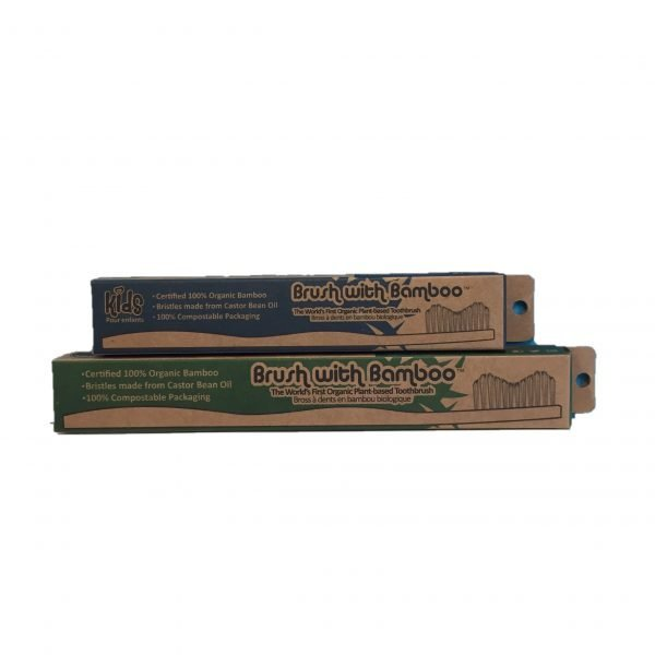 Bamboo Toothbrushes side
