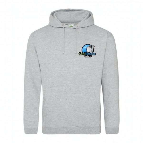 adults hoodie grey