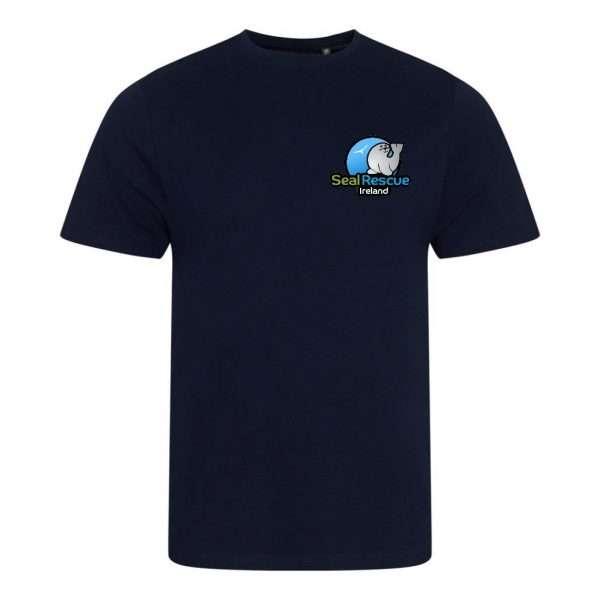 adults tshirt navy
