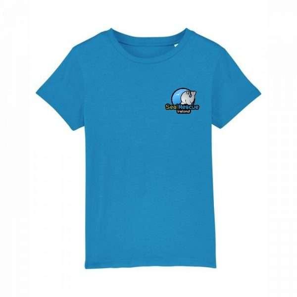 kids tshirt azure