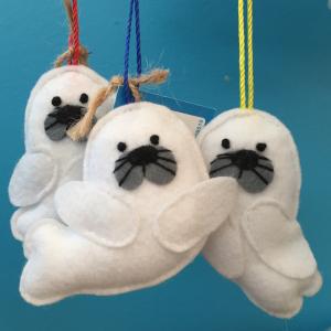 Handmade Seal Ornament